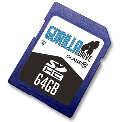 Acp-ep Memory Acp Ep Memory GF-SDHC/64GB-10 64GB Gorilladrive Sdhc Class10 Flsh