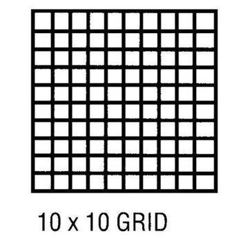 Alvin & Company Alvin CP10003420 Grid Vel 17x22 10x10 50 Sht Pd