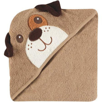 Baby Vision Luvable Friends Animal Face Hooded Terry Towel - Dog