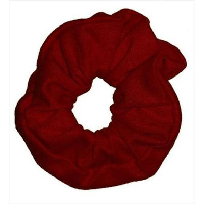 Coveryouhair CoverYourHair 61265 Soft Classy Solid Scrunchy Maroon