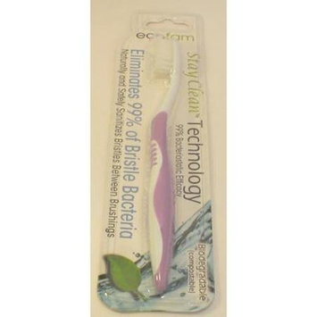 EcoFam - Anti-Bacterial Silver Toothbrush Silver