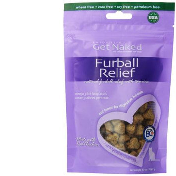 Get Naked Furball Relief Natural Cat Treats, .5 Length