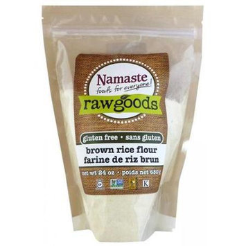 Namaste Foods Brown Rice Flour 6 pack