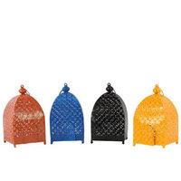 Urban Trends Metal Moroccan Lantern (Set of 4)