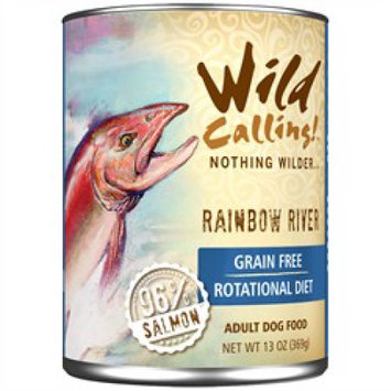 Best Friend Products Corp Wild Calling Rainbow River Salmon Can Dog Food