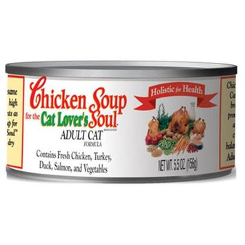 Chicken Soup Adult Canned Cat Food 24 Pack