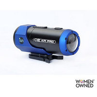 iON Air Pro Lite 811233021157 WiFi 2014 Soot and Share HD Sports Video Camera Camcorder - Blue