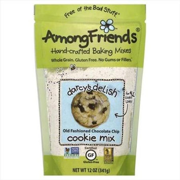Among Friends 12 oz. Darcys Delish Old Fashioned Chocolate Chip Cookie Mix Case Of 6
