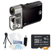 Sony HD Camcorder with Premium Audio - Music Video Recorder Bundle