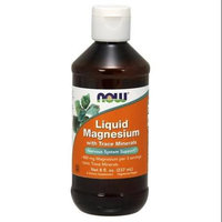 NOW Foods - Liquid Magnesium with Trace Minerals - 8 oz.