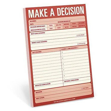 Make a Decision Pad by Knock Knock