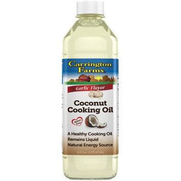 Carrington Farms Coconut Cooking Oil Garlic 16 fl oz