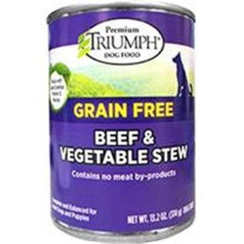 Triumph Grain Free Beef & Veg Stew Can Dog Food
