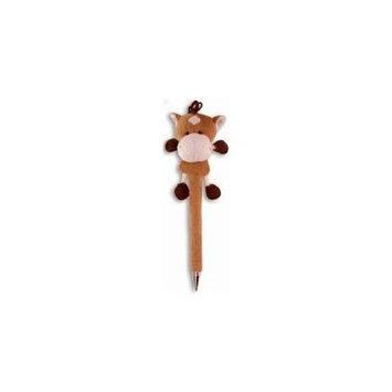 Puzzled 5535 Plush Pen - Horse -Pack of 6