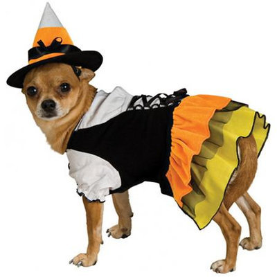 Rubies Candy Witch Dog Costume Size: Extra Small (7