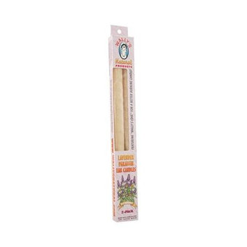 Wallys Natural Products Paraffin Ear Candles Lavender - 2 Candles