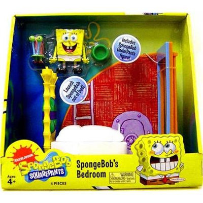 Spongebob Squarepants Bedroom Play Set by Hasbro