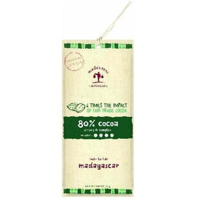 Madecasse - Chocolate Bar 80 Cocoa - 2.64 oz.