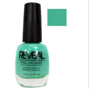 Reveal Turquoise Color Salon Grade Nail Polish Lacquer Bottle - 15 mL