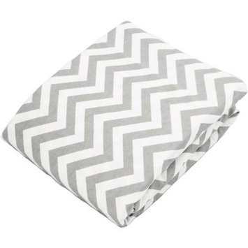 Babies R Us Kushies Change Pad Fitted Sheet - Grey Chevron