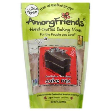 Among Friends Cake Mix 14.4oz Pack of 6