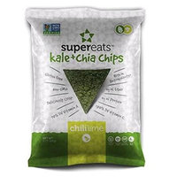 Supereats Kale & Chia Chips Chili Lime 5 oz