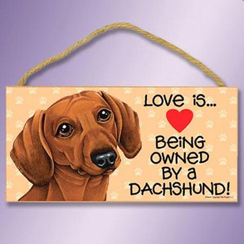Sjt Enterprises Love Is Dog Sing Doxie