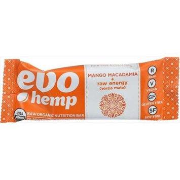 Evo Hemp - Organic Nutrition Raw Energy Bar Mango Macadamia - 1.69 oz.
