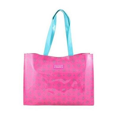Jacki Design AHL38025HP Cosmopolitan Tote Bag Hot Pink