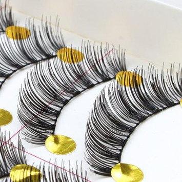 Agptek 10 Pairs Brand New Makeup Handmade Natural Fashion Long False Eyelashes Eye Lashes