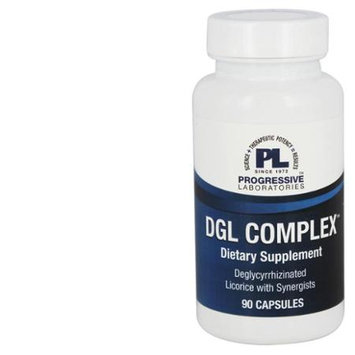 Progressive Laboratories - DGL Complex Deglycyrrhizinated Licorice - 90 Capsules