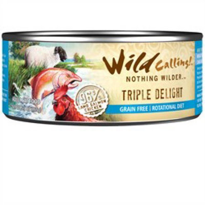 Wild Calling Triple Delight Formula Canned Cat Food 5.5 oz. (Case of 24)
