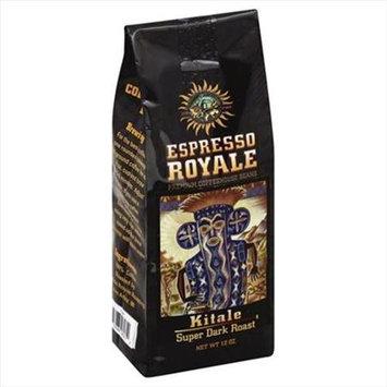 Espresso 12 oz. Kitale Super Dark Roast Coffee Beans - Case Of 6