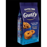 Gratify Gluten Free Pretzels Everything Thins 10.5 oz
