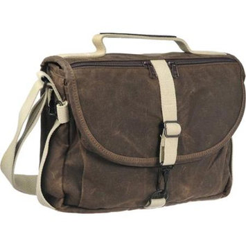 Domke F-803 Camera Satchel Bag, Canvas, Brown Waxwear