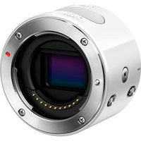 Olympus - Air A01 Mirrorless Camera (body Only) - White