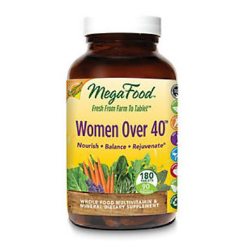MegaFood Women Over 40 Whole Food Multivitamin & Mineral 180 Tablets