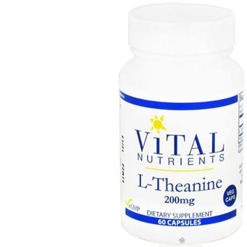 Vital Nutrient's Vital Nutrients - L-Theanine 200 mg. - 60 Vegetarian Capsules