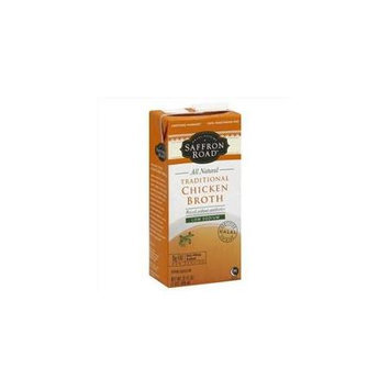 Saffron Road All Natural Chicken Broth Traditional 32 fl oz