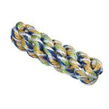 Ethical Products Inc Spot Ethical Rainbow Twister Braided Stick 7in Dog Toy Assorted Colors