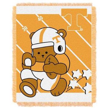 Tennessee Volunteers NCAA Triple Woven Jacquard Throw (Fullback Baby Series) (36x48)