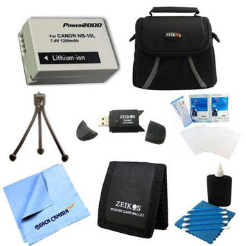 Special Loaded Value NB-10L Kit For Canon Powershot SX40, SX50, G15, G16 & G1X