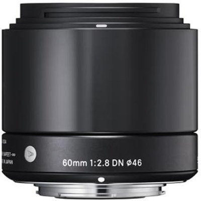 Sigma 60mm f2.8 DN Lens - Micro Four Thirds Fit - Black