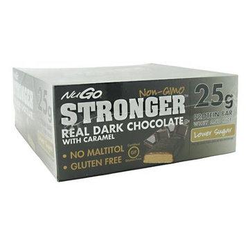 NuGo Stronger Protein Bars, Dark Chocolate, 12 ea