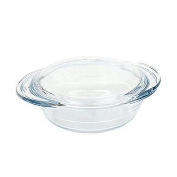 Lancaster Colony GD16455715 Small Round Casserole with Lid, 1 qt, Sleeved, pk 6 st