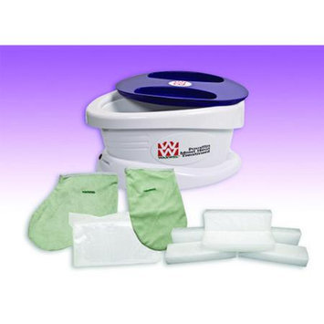 WaxWel 11-1604 Paraffin Bath Unit Includes 6 Lb. Lavender Paraffin 100 Liners 1