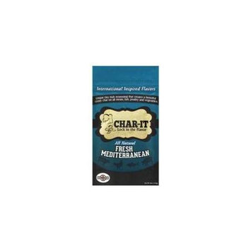 The BBQ Chef Char-It Dry Seasoning Rub Fresh Mediterranean 4 oz