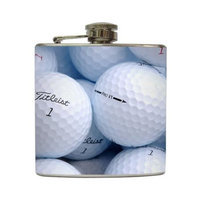 Hole in One - Liquid Courage Flasks - 6 oz. Stainless Steel Flask