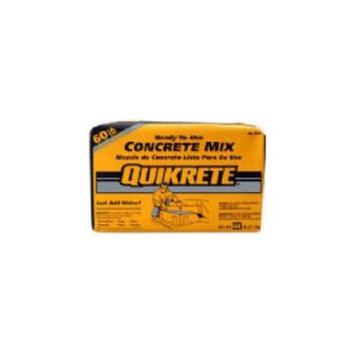 QUIKRETE 60 -lb Gray High Strength Concrete Mix 110160