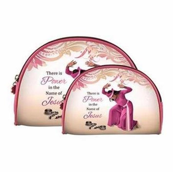 Africanamericanexpressions Power 2 Piece Cosmetic Bag Set